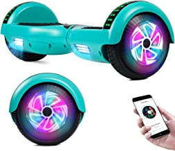 VEVELINE Hoverboard UL2272 Certified 6.5 inch Self Balancing Hoverboards, Hover Board for Kids w/Bluetooth Speaker