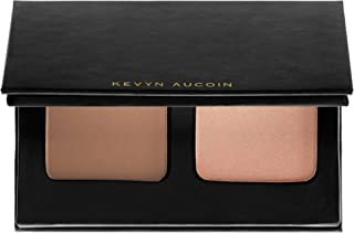 Kevyn Aucoin The Contour Duo On The Go -Sculpting Powder Medium / Highlight Candlelight