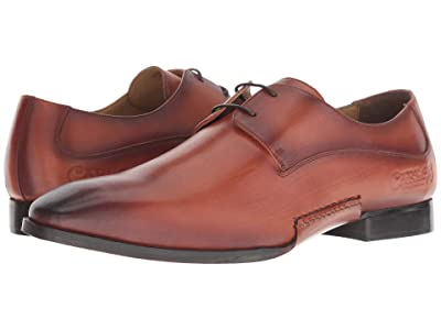 CARLOS by Carlos Santana Havana Oxford (Cognac Calfskin Leather) Men
