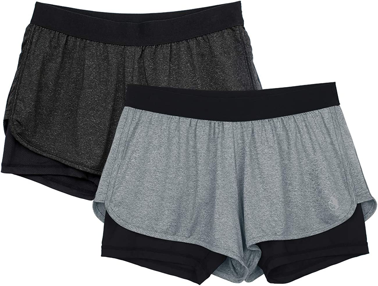 icyzone Running Yoga quality assurance Shorts Excellence for Activewear - Women Exerc Workout