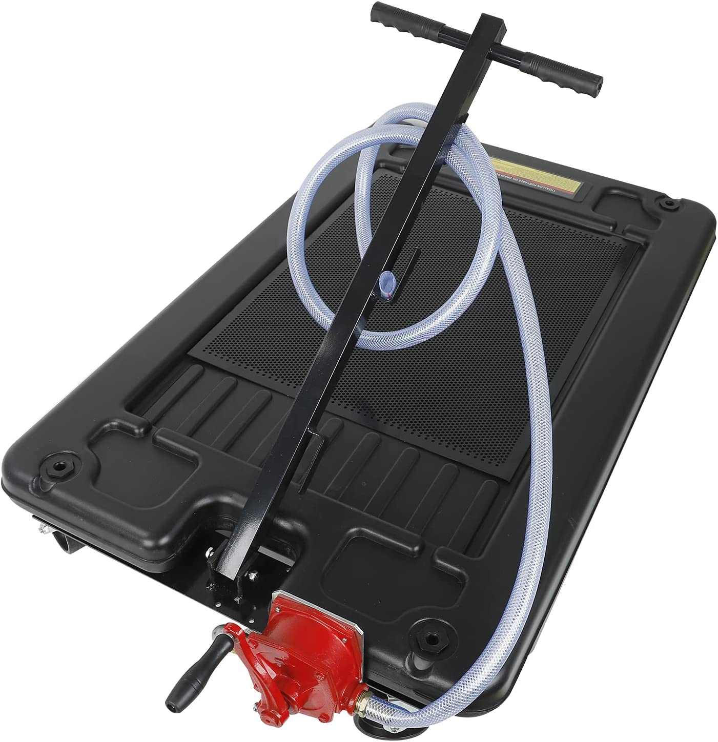 smileracing Oil Complete Free Shipping Excellence Drain Pan 17 Gallon Profile Portable with Pu Low
