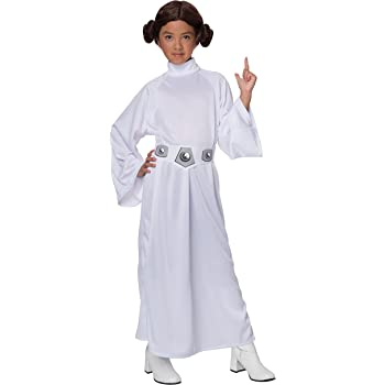 Amazon Com Star Wars Child S Deluxe Princess Leia Costume Medium