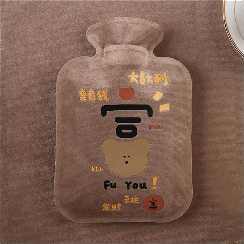 YIXINGSHANGMAO Cartoon Max 72% OFF Warm Hot Water Seasonal Wrap Introduction Bottle Plush Portable Mini