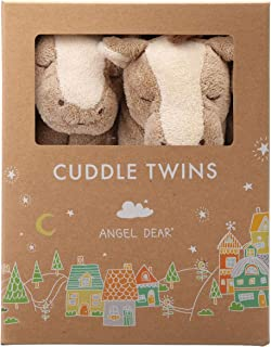Angel Dear Cuddle Twin Set, Brown Pony (Discontinued by Manufacturer)