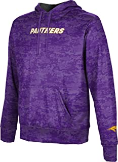 School Spirit Sweatshirt Splatter Embry-Riddle Aeronautical University Prescott Mens Pullover Hoodie