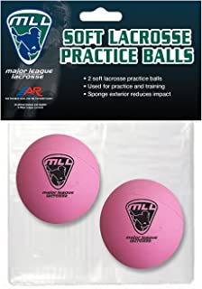 A&R Sports MLL Soft Lacrosse Practice Balls (Set of 2)