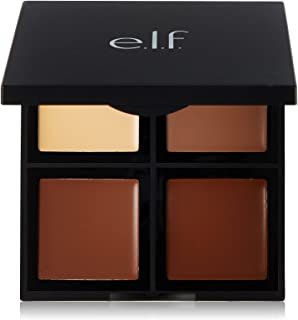 e.l.f. Cosmetics Contour Palette, Four Powder Shades Perfectly Contour and Highlight Your Features