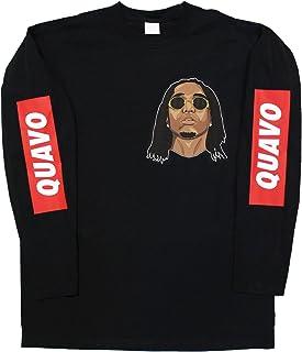 8d21029ebb Printed Tee Quavo Long Sleeve T-Shirt