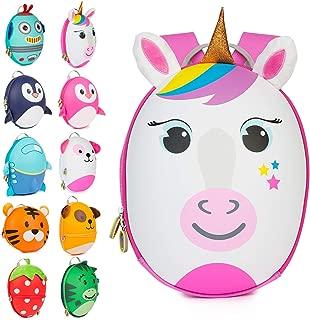Boppi Tiny Trekker Kids Backpack Travel Holiday Bag 4 Litre Rucksack - Unicorn