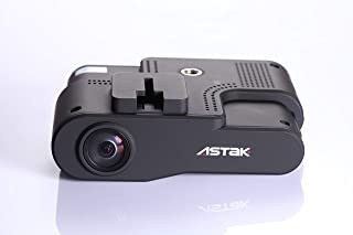Timetec Astak 1080P FHD Car Dash Cam, Dashboard Video Camera Recorder with Night-Vision, GPS, G-Sensor, Loop Recording (SD Card Included, Equivalent to Roadhawk HD)