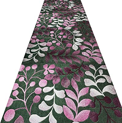 WX&QIANG Hallway Runner Rugs Corridor Carpet Cutable Washable Multiple Sizes Simple Thickness 6mm, 0.6 M / 0.7 M / 0.9 M / 1.3 M Wide Creativity, Fitness, Crawling for Kids