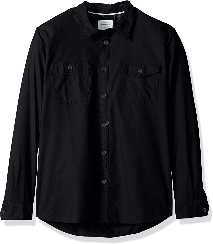 Quiksilver Mens Tarno Long Sleeve Button Down Shirt