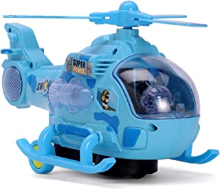 VNC Musical and 3D Lights Helicopter Toy with 360 Degree Rotation Vehicle Toys for 2-5 Year Kids