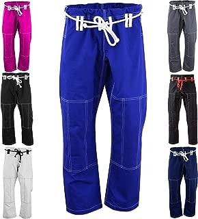 Max5 Brazilian Jiu Jitsu Gi Pants MMA Grappling BJJ Gi Pant Full Blank