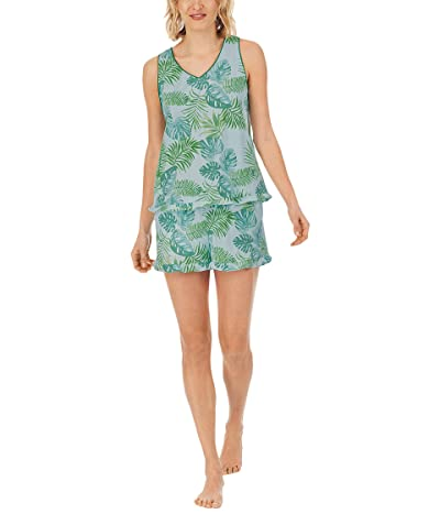 BedHead Pajamas Ruffle Shorty PJ Set (Cotton Spandex)