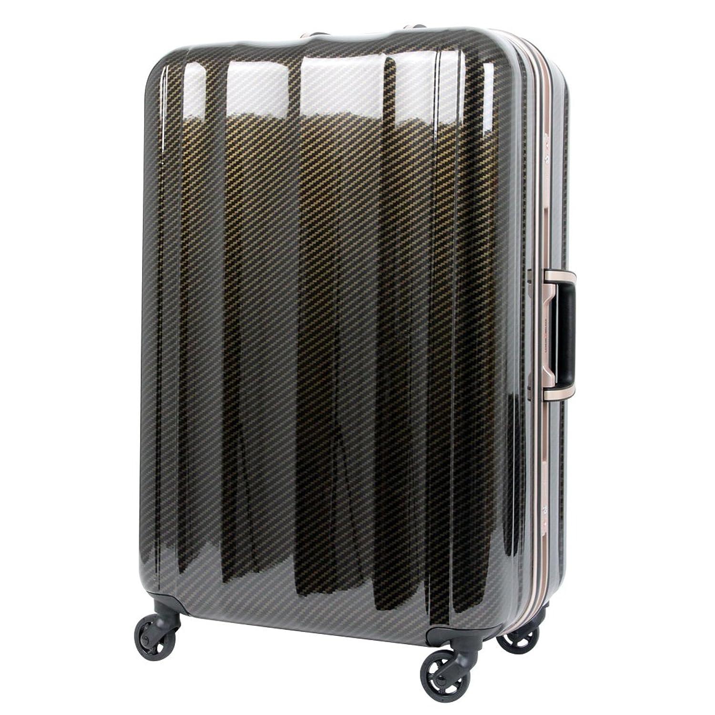 T&S 軽量スーツケース レジェンドウォーカー 6702-70 90リットル カーボン