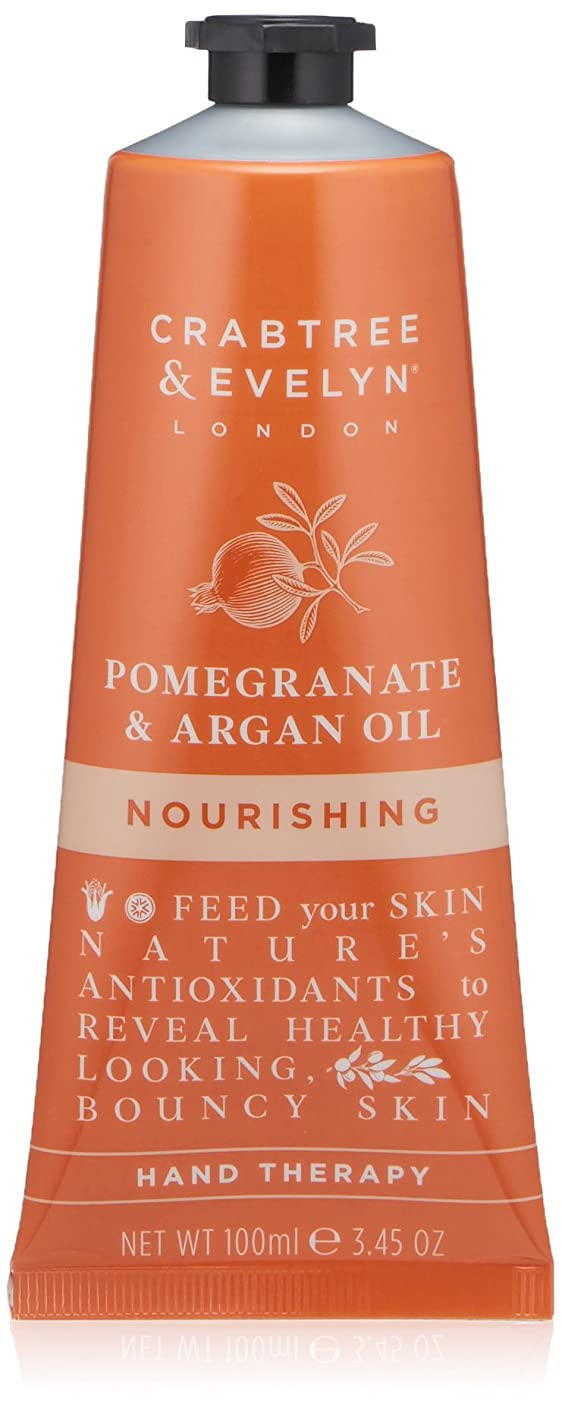 アルカイック何よりも効果的にクラブツリー&イヴリン Pomegranate & Argan Oil Nourishing Hand Therapy 100ml/3.45oz並行輸入品