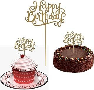 Best happy birthday stick on cake Reviews