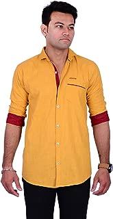 La Milano Men's Solid Shirt