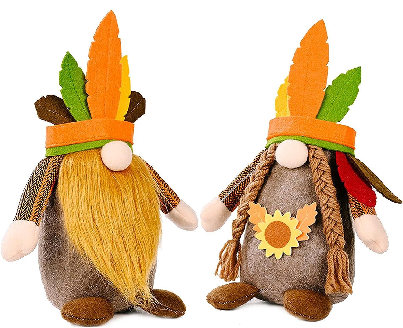 HCHL Halloween Decor Farmhouse 2 Tom NEW before selling Pcs Gnomes Fall Decorations Bombing free shipping