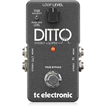 TC Electronic DITTO STEREO LOOPER - Pedal de fraseo/looping, True Bypass