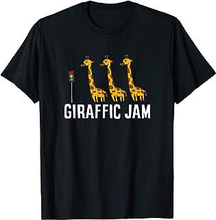 Funny Giraffic Jam Cute Giraffe Giraffe Pun Cute Giraffe T-Shirt