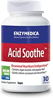 Enzymedica, Acid Soothe, Promotes Relief from Heartburn and Indigestion While Helping to Strengthen the Sto...