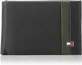 AM0AM0AM01601 - Cartera para Hombre (11 x 7 x 3 cm), diseño con Texto Mini CC Flap and Coin