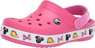 Crocs Kids' Crocband Minnie Clog
