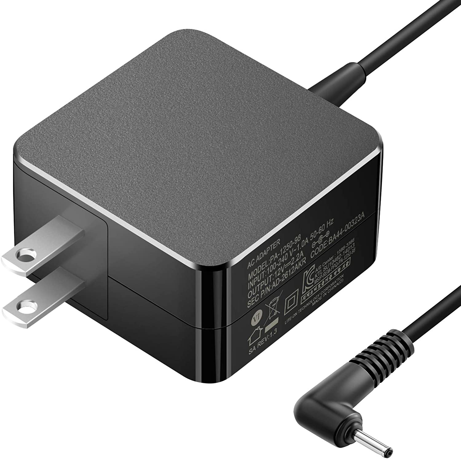 Chromebook Charger for Samsung Laptop, 26W 12V 2.2A Compatible 11.6