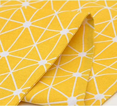 Minions Boutique Yellow Table Runners Modern Linen Cotton Table Runner for Dining Tabletop Rural Style Table Cloth Mat for Ho