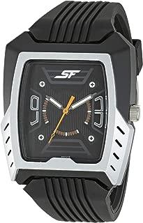 Fibre (SF) Economy Analog Black Dial Men's Watch-NK77066PP01