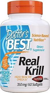Doctor's Best Krill Real. 350 Mg - 60 Cápsulas Blandas 60 Unidades 60 g