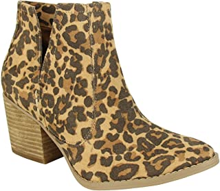 Not Rated Tarim Heeled V-Cut Bootie