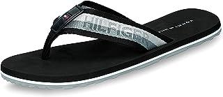 Tommy Hilfiger Men's Corporate Webbing Beach Sandal Flip Flops