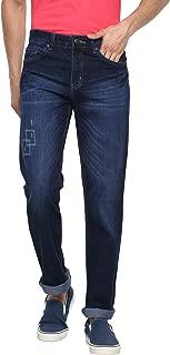 AMERICAN CREW Men's Straight Fit Jeans (Non Stretch)