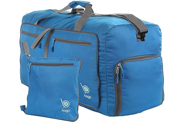 Bago 60L Duffle bags for men   women - Foldable Travel Duffel weekender bag 92d500b9c812f