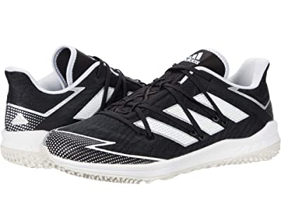adidas Adizero Afterburner Turf (Core Black/Footwear White/Grey One) Men