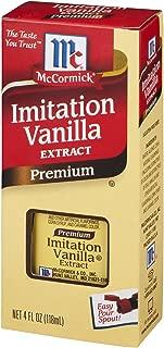 mccormick premium vanilla flavor