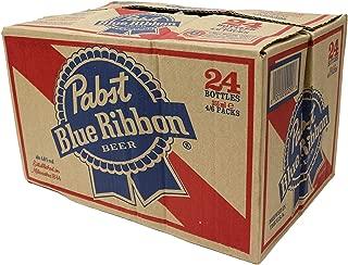 Pabst Blue Ribbon 瓶 [ ラガータイプ アメリカ 355ml×24本 ]
