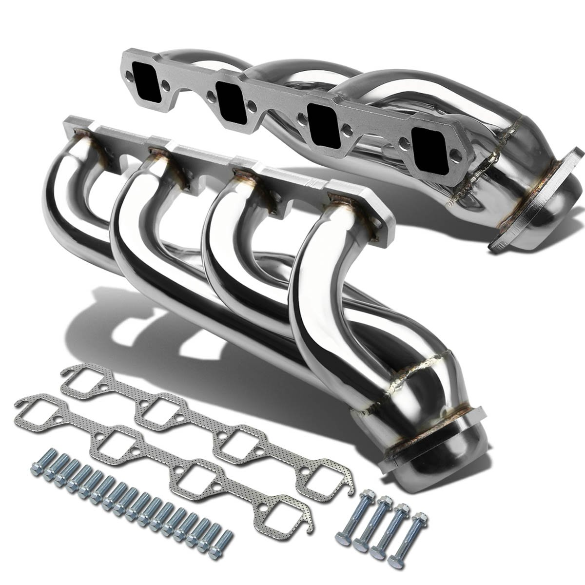 DNA MOTORING HDS-JCW0738 HDSJCW0738 Stainless Steel Exhaust Header Manifold