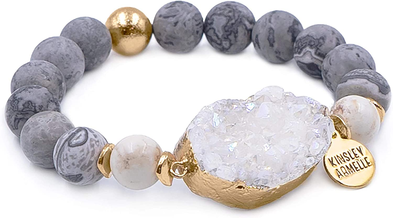 Ranking TOP9 Kinsley Armelle Stone Collection Dusk Dallas Mall Bracelet -