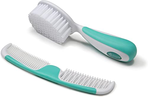 Safety 1st Easy Grip Brush & Comb - Aqua