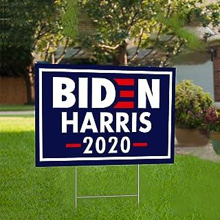Joe Biden 2020 President Yard Signs Double Sided 18x12 4PK H Stakes