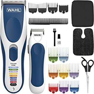 Wahl Hair Clippers for Men, Colour Pro Cordless Combi Kit, Head Shaver, Men's Hair Clippers with Beard Trimmer, Men Clippe...