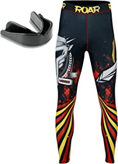 Roar MMA Compression Pants Gym Workout Exercise Spats