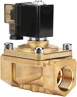 Solenoid Valve Brass Electric Brass Electric Solenoid Valve Water Air Normally Closed Action Electromagnetic Air for Wate...