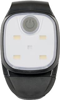 Asigo LED Clip Lampe | Wiederaufladbare USB Stirnlampe | Kopflampe für Kinder / Freihändig verwendbar beim Laufen, Wandern, Arbeiten - Wasserdicht