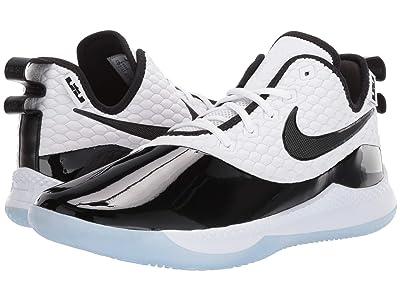 Nike LeBron Witness III Premium (White/Black/Half Blue) Men