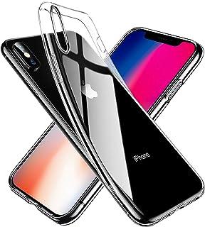 【Whew】 iPhone X/XS ケース 耐衝撃 衝撃吸収 レンズ保護 防塵 滑り止め 軽い 黄ばみなし 高透明 みなしワイヤレス充電 高級感 カバー (クリスタル・クリア)